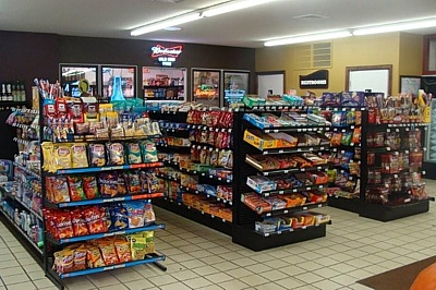 convenience store:branded gas